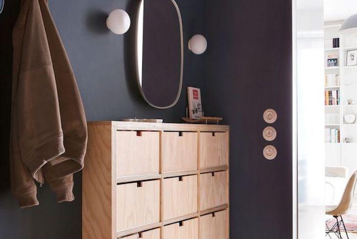 ou trouver meuble chaussures petite entree decoration moderne