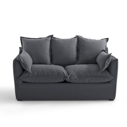 ou trouver meuble salon séjour gris canapé convertible
