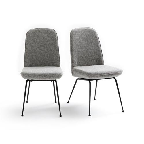 ou trouver meuble salon séjour gris chaises pas cher