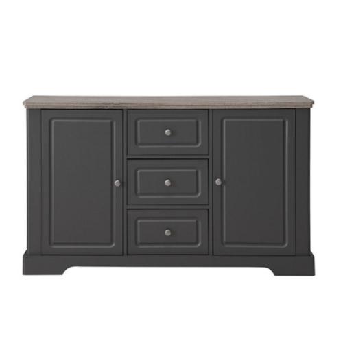 ou trouver meubles deco gris buffet classique chic anthracite