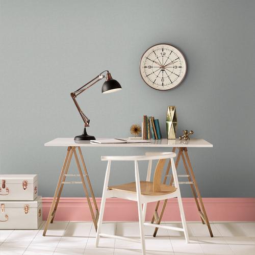 ou trouver peinture gris clair moderne bureau tendance