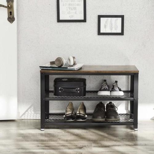 ou trouver petit meuble chaussure petit prix étagère bois metal