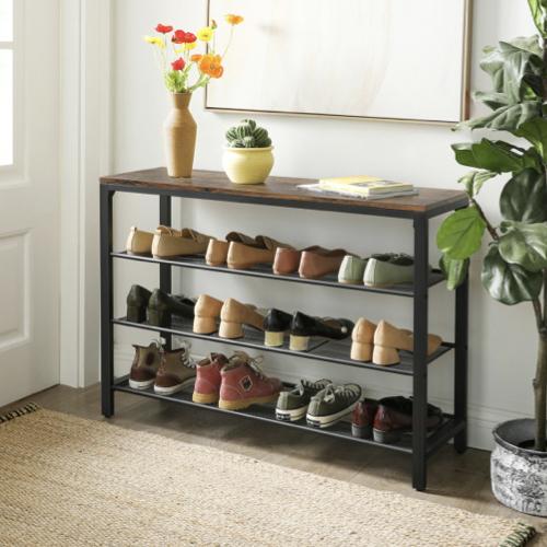 ou trouver petit meuble chaussure petit prix famille entrée gain de place