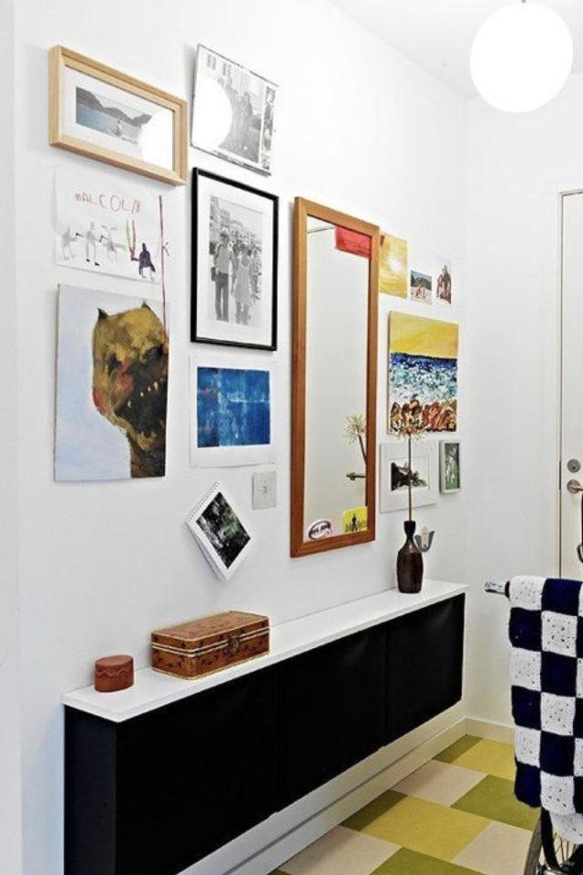 petite entree meuble a chaussure exemple mobilier long style banc moderne déco famille