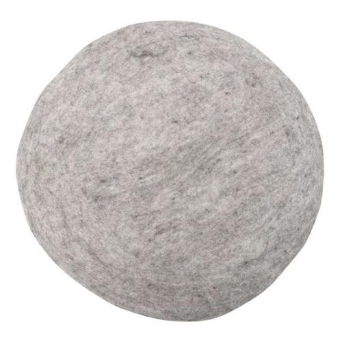 salon accessoire deco design gris coussin rond organique