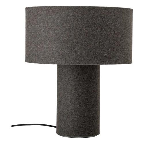 salon accessoire deco design gris lampe à poser