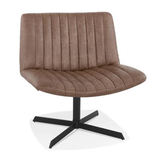 salon amenagement coin lecture fauteuil XXL imitation cuir