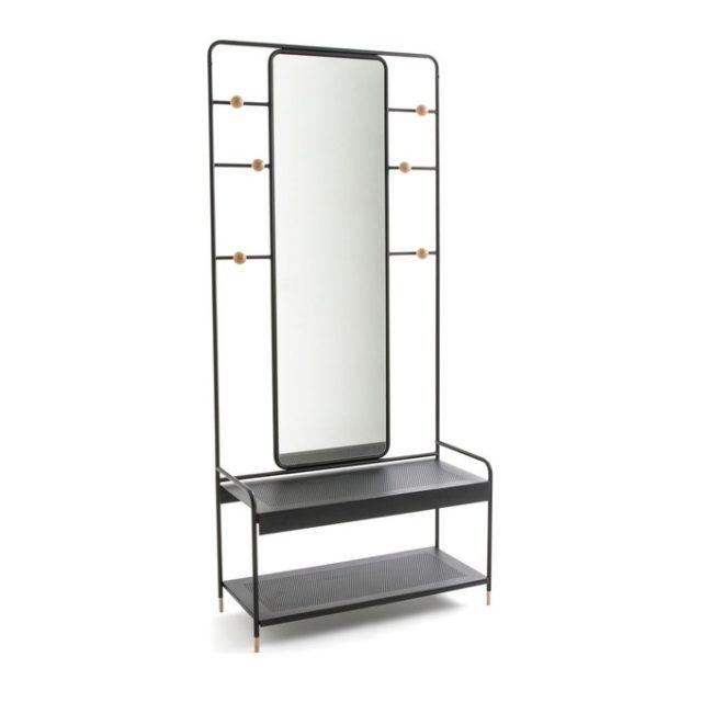 soldes hiver deco mobilier vestiaire aménagement entrée moderne exemple meuble pas cher bon plan