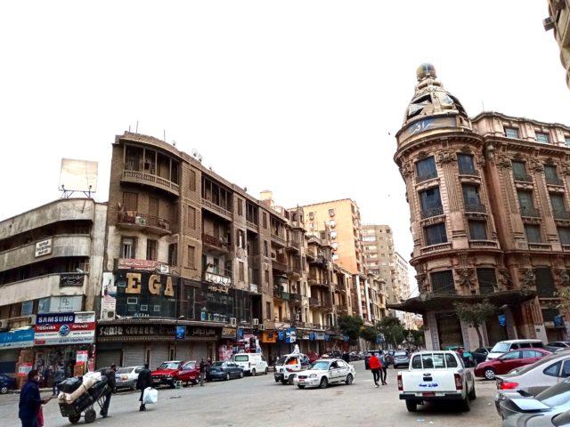 architecture patrimoine centre ville Caire ancien grand magasin
