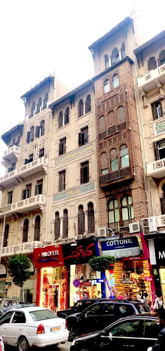 architecture patrimoine centre ville Caire façade rénovée XIXème