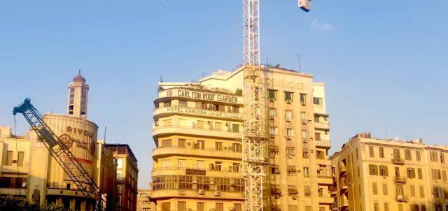 architecture patrimoine centre ville Caire ville en mutation