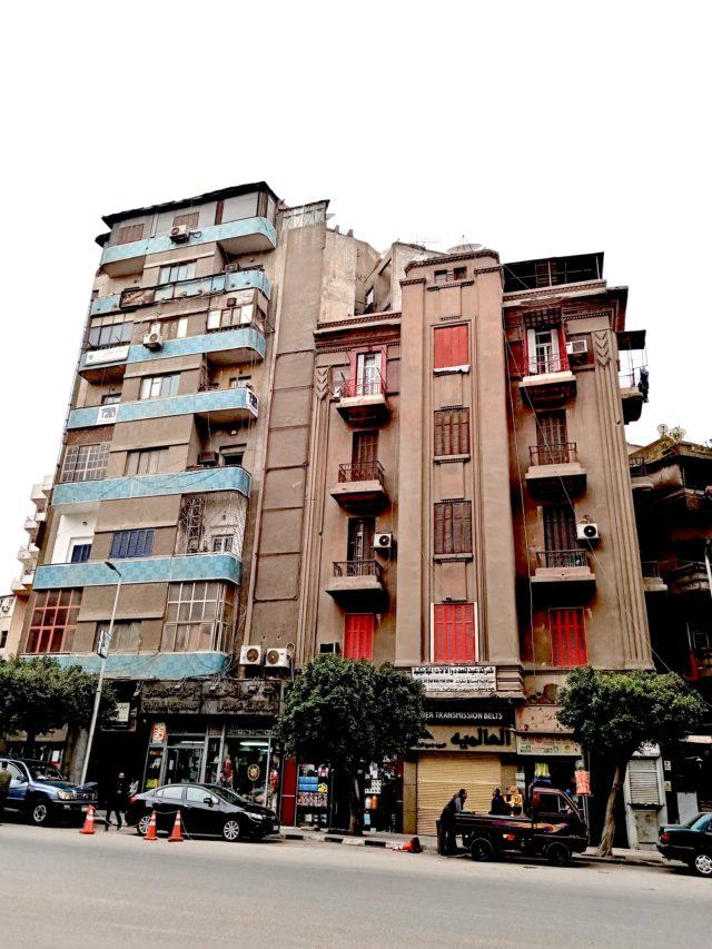 architecture patrimoine centre ville Caire batiment art deco