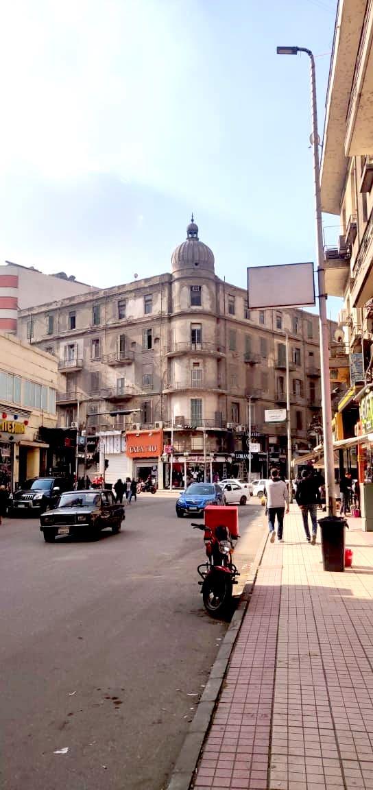 architecture patrimoine centre ville Caire downtown