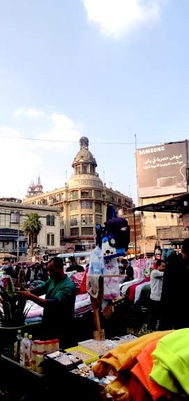 architecture patrimoine centre ville Caire khédivial XIX marché