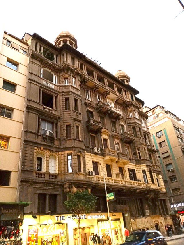 architecture patrimoine centre ville Caire façade ancienne caire downtown