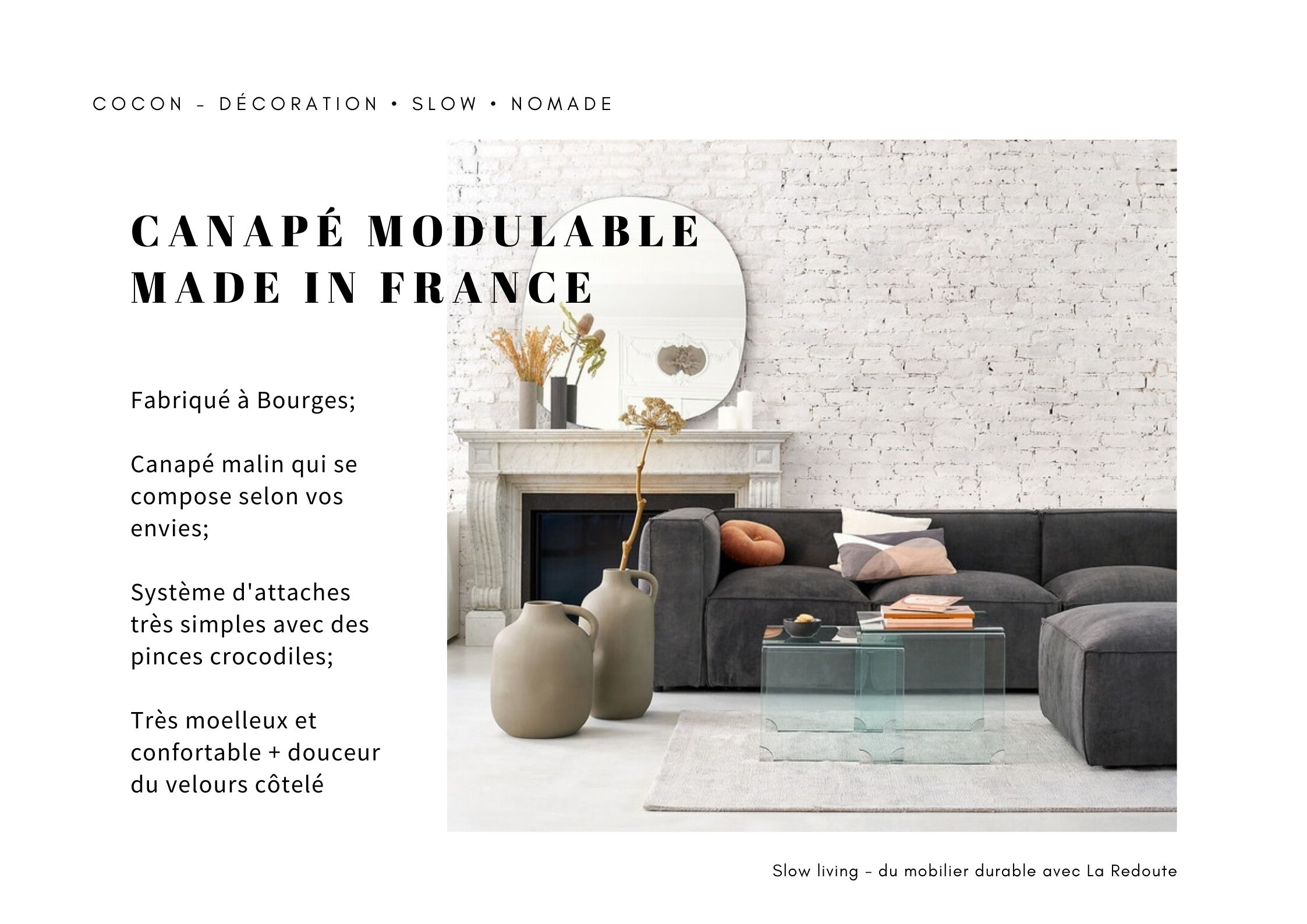 canape made in france modulable et personnalisable angle confort moderne pas cher