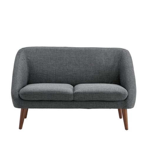 chambre etudiante mobilier decoration petit canapé gris décoration vintage