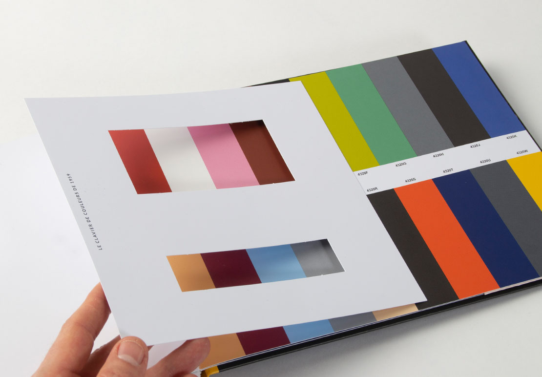 clavier couleurs le corbusier années 30 à 60 architecture intérieure