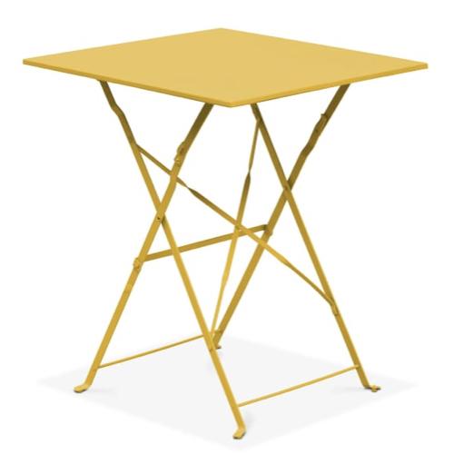 deco meuble chambre etudiant table pliante en metal gain de place