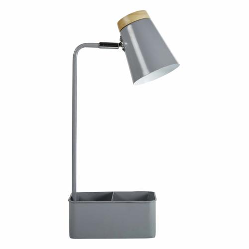 deco meuble chambre etudiant lampe de chevet bureau grise pratique