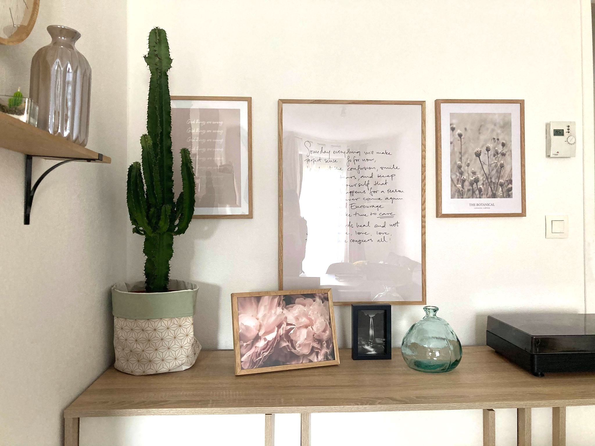 deco murale desenio sejour idée décoration mur tendance moderne cactus