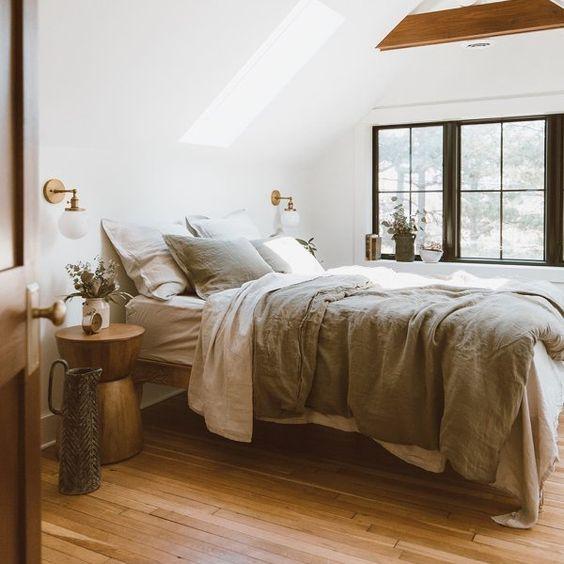 gain de place chambre exemple petit espace nuit sous les combles