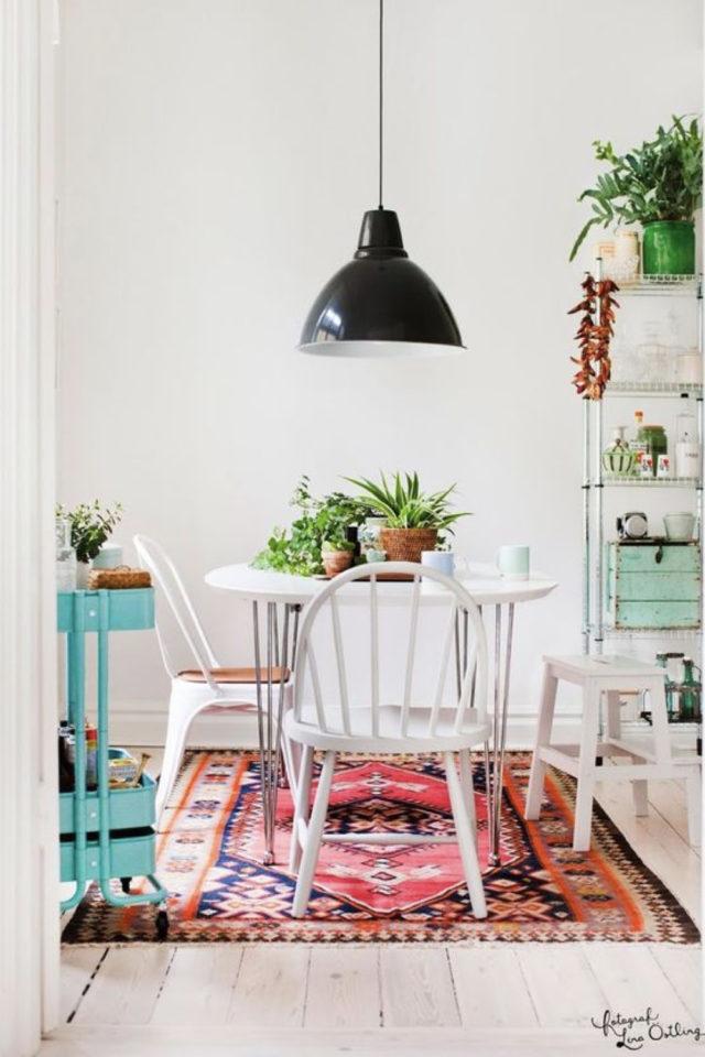 logement etudiant confort bien etre exemple petit coin repas salle à manger studio étudiant