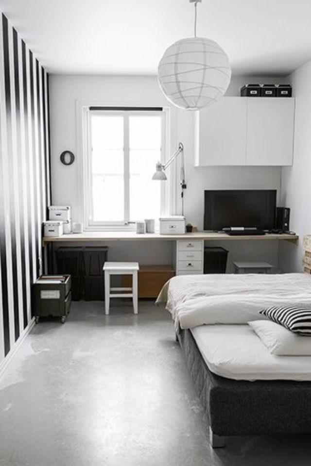 logement etudiant confort bien etre exemple petite chambre minimaliste épurée