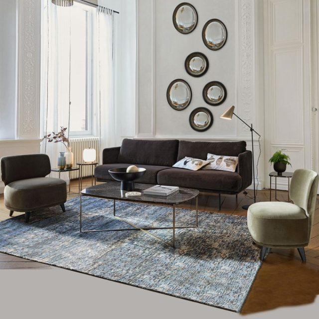 maison responsable decoration durable la redoute canapé confortable made in France velours tendance