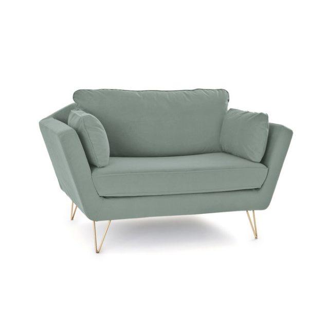 maison responsable fabrication locale a la demande fauteuil XL grand format couleur céladon nord de la france