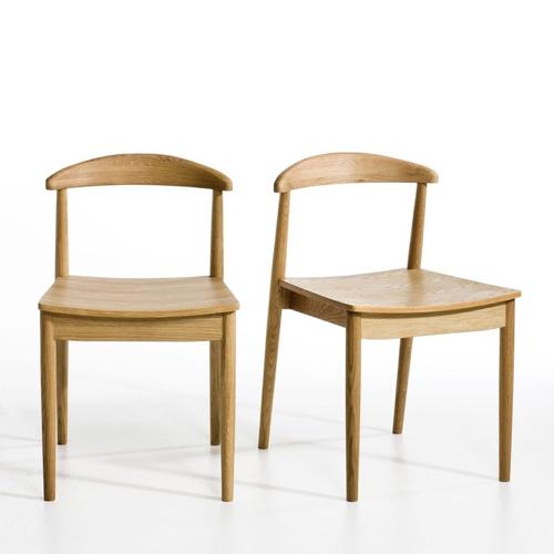 meuble coin repas moderne chaise retro bois simple