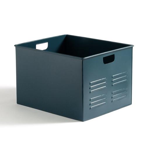 meuble deco pour étudiant boite de rangement en métal