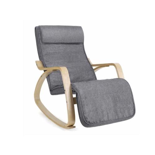 ou acheter fauteuil moins de 100euros relax a bascule style ikea gris et bois clair