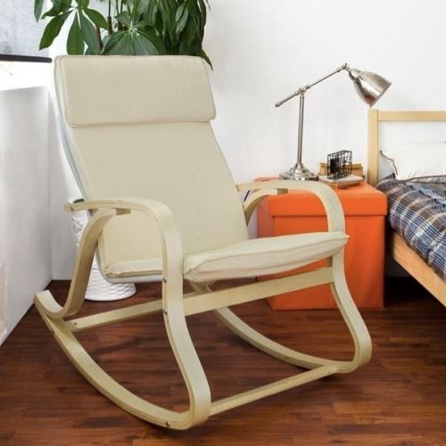 ou acheter fauteuil moins de 100euros a bascule style ikea blanc et bois