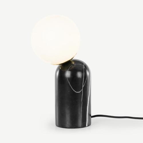 ou trouver accessoire deco minimaliste chambre lampe de chevet moderne design marbre