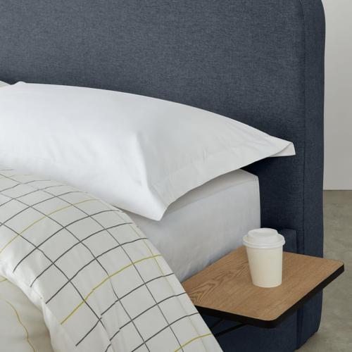 ou trouver accessoire deco minimaliste chambre tablette de nuit à suspendre au sommier gain de place