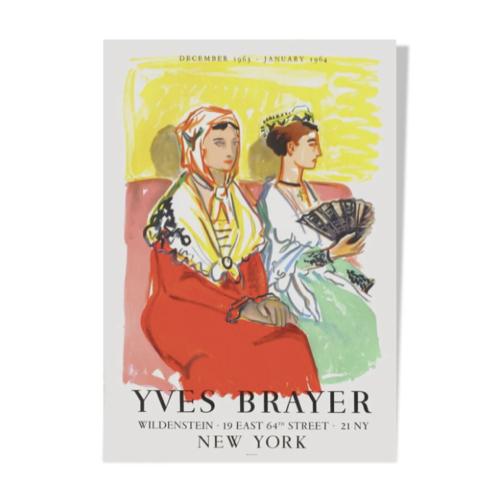 ou trouver affiche vintage annees 50 illustration