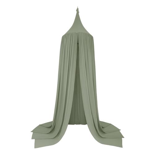 ou trouver ciel de lit chambre enfant moderne couleur vert sauge céladon mint chambre d'enfant décoration tendance