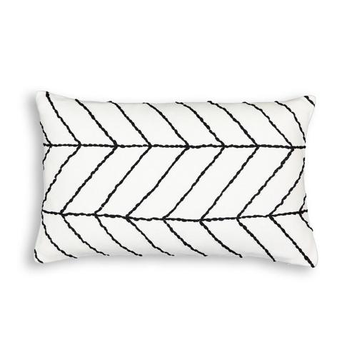 ou trouver deco minimaliste chambre nouveaute coussin noir et blanc moderne