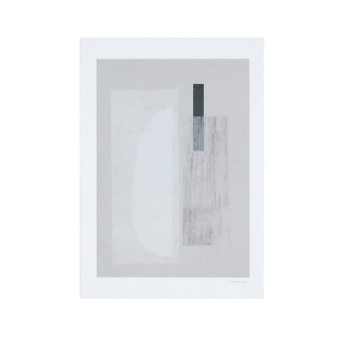 ou trouver deco minimaliste chambre nouveaute affiche illustration abstraite grise et blanche