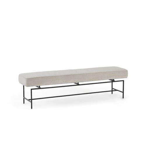 ou trouver deco minimaliste chambre nouveaute banc bout de lit noir et gris