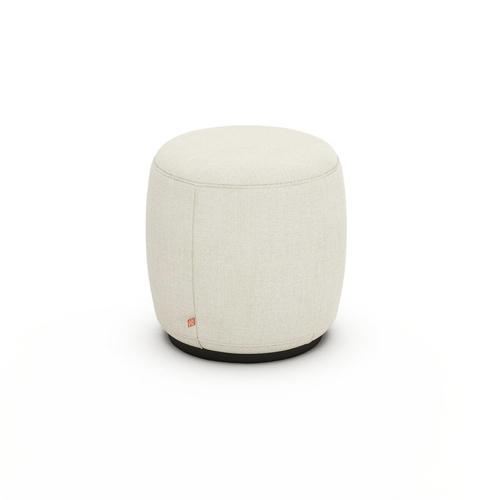 ou trouver deco minimaliste chambre nouveaute pouf rond en lin couleur slow