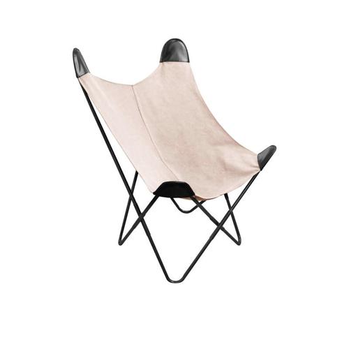 ou trouver fauteuil papillon pas cher fauteuil papillon blanc beige et noir