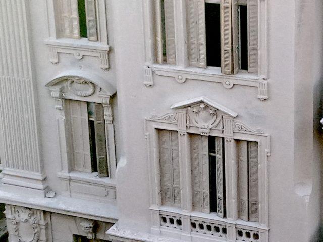 patrimoine 19e Caire détail façade architecture classique à rénover