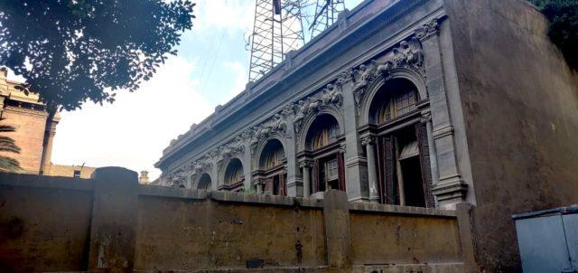 patrimoine Caire palais rue Champollion detail fenêtre