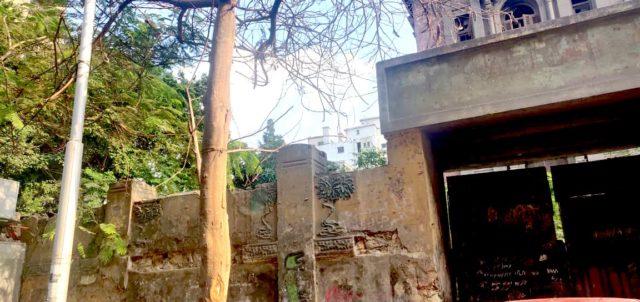 patrimoine Caire palais rue Champollion vue depuis la rue