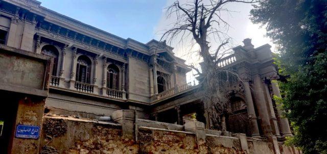 patrimoine Caire palais rue Champollion histoire empire ottoman