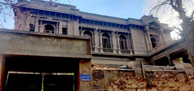patrimoine Caire palais rue Champollion empire ottoman prince