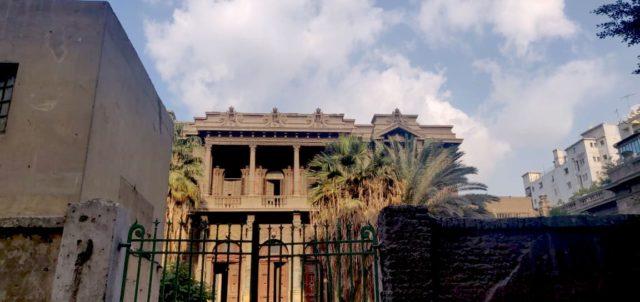patrimoine Caire palais rue Champollion batiment à voir