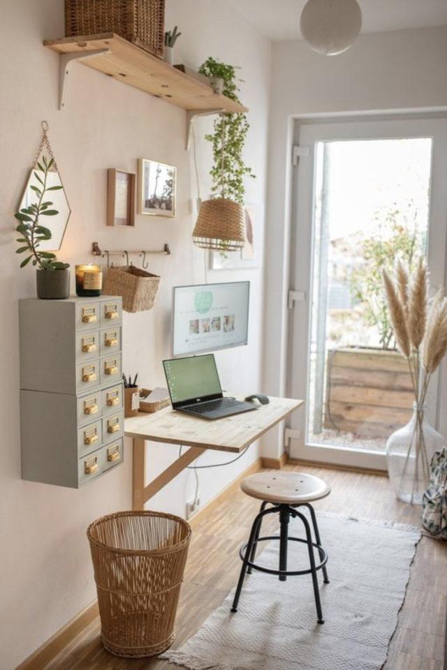 studio etudiant conseil bien etre aménagement petit bureau pratique gain de place